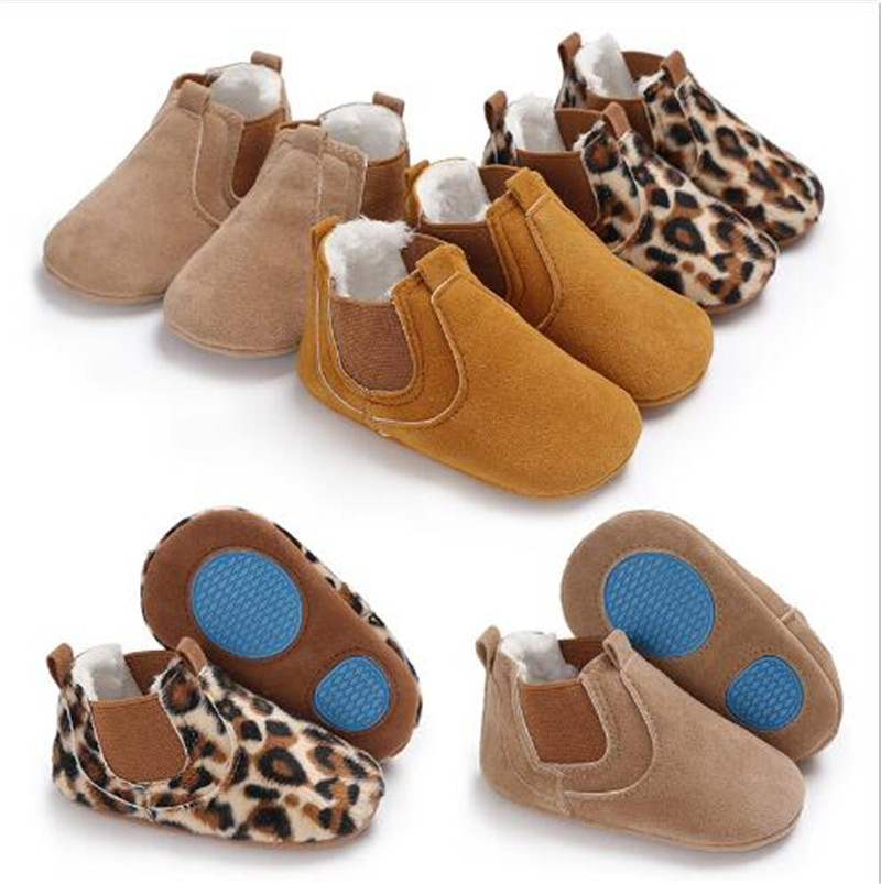 Fashion Baby Shoes Boots Infants Warm First Walkers Baby Winter Soft Infant Shoes