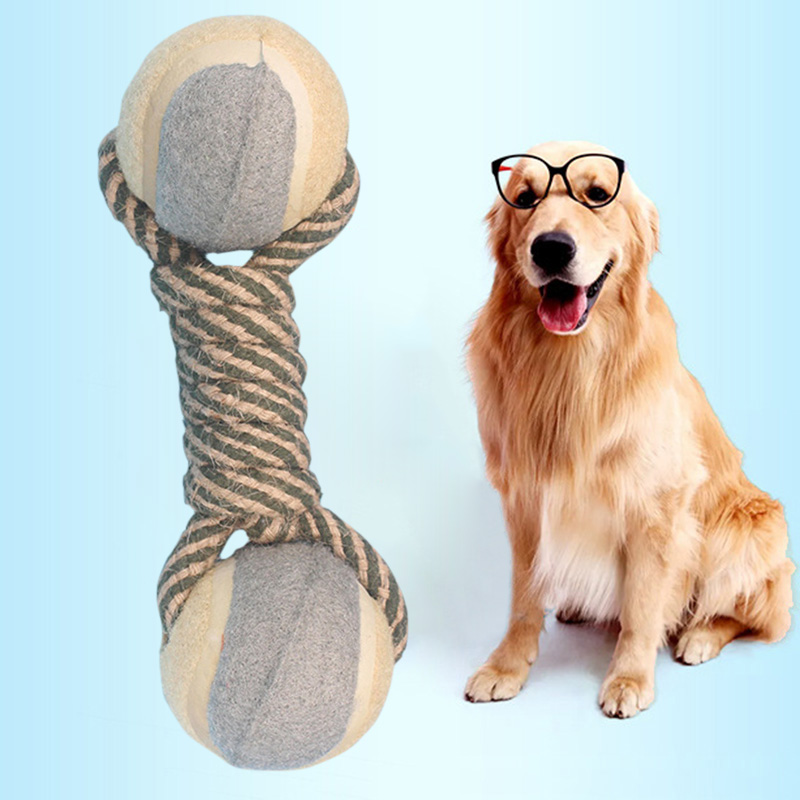 Home Supplies Hot Selling Pet Dog Toys ball Tooth To Bite Pet Training Game And Chew Color Sent Random