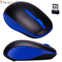 Adjustable 1PC 2.4GHz Wireless Optical 3D Buttons Mice Receiver Game Mouse Gaming Mouse Maus raton para juegos