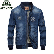 L~4XL New 2017 Spring Retro Denim Jackets Fleece Mens Jeans Coats Winter Jackets Brand CLOTHES Thin Denim Coat Men Asian Size