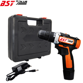 Battery Indicator 12V Lithium-ion Battery Cordless Drill  Screwdriver Driver Wrench Power Tools voto battery rechargeable cordless drill electric screwdriver set lithium power tools screw gun driver 12v red 220v 2018