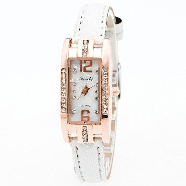 Watch, Fashion Women's Quartz Wrist Watch Crystal Bracelet Watches relojes mujer