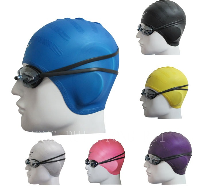 2018 Limited Swimming Caps For Long Hair Sbart Swimming Caps Women And Universal Silicone Swim Cap Waterproof Hair Ear Protect