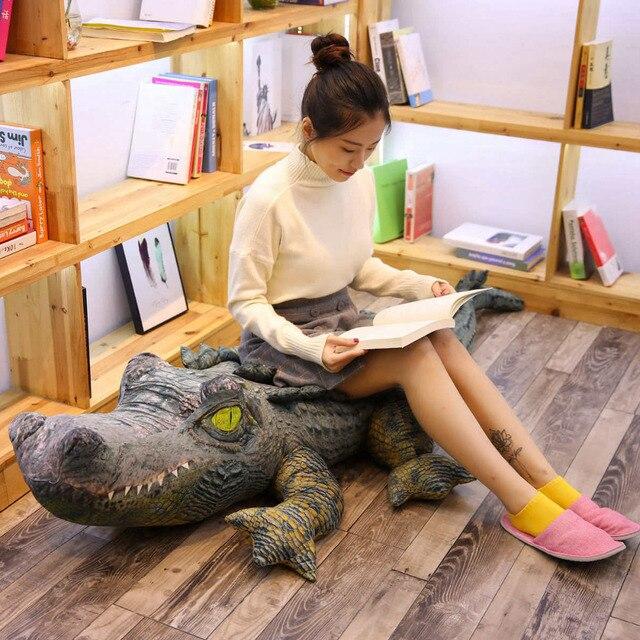 Crocodile Plush Pillow 1