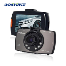 Aoshike 2.7-Inch G30 Driving Recorder Car 1080P HD Wide-angle Mini Inter face Night Vision HD G-Sensor Dash Cam  Camera цена