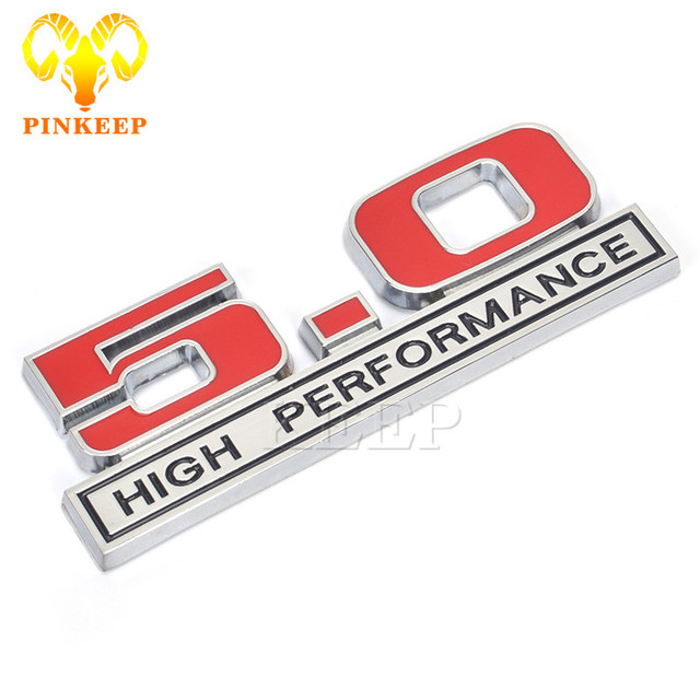 Car Sticker Emblem Trunk Badge Decal For   High Performance Ford Mustang Gt  Focus Mondeo