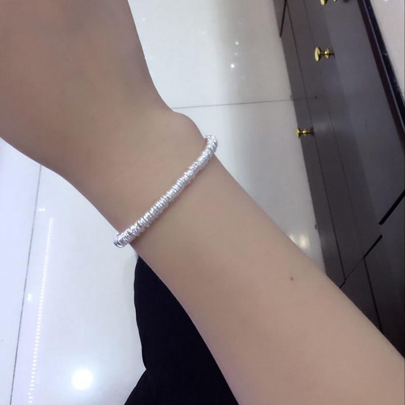 4.7mm largeur 2019 nouveau 925 charme en argent Sterling Bracelets pour femme bijoux à la mode multi-couche lien chaîne Bracelets et Bracelets