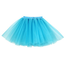 Women Skirts 2016 New Arrival Unique Three Layers Super Fluffy Lush Party Performance Gorgeous Women Tutu Petticoat Skirt 10