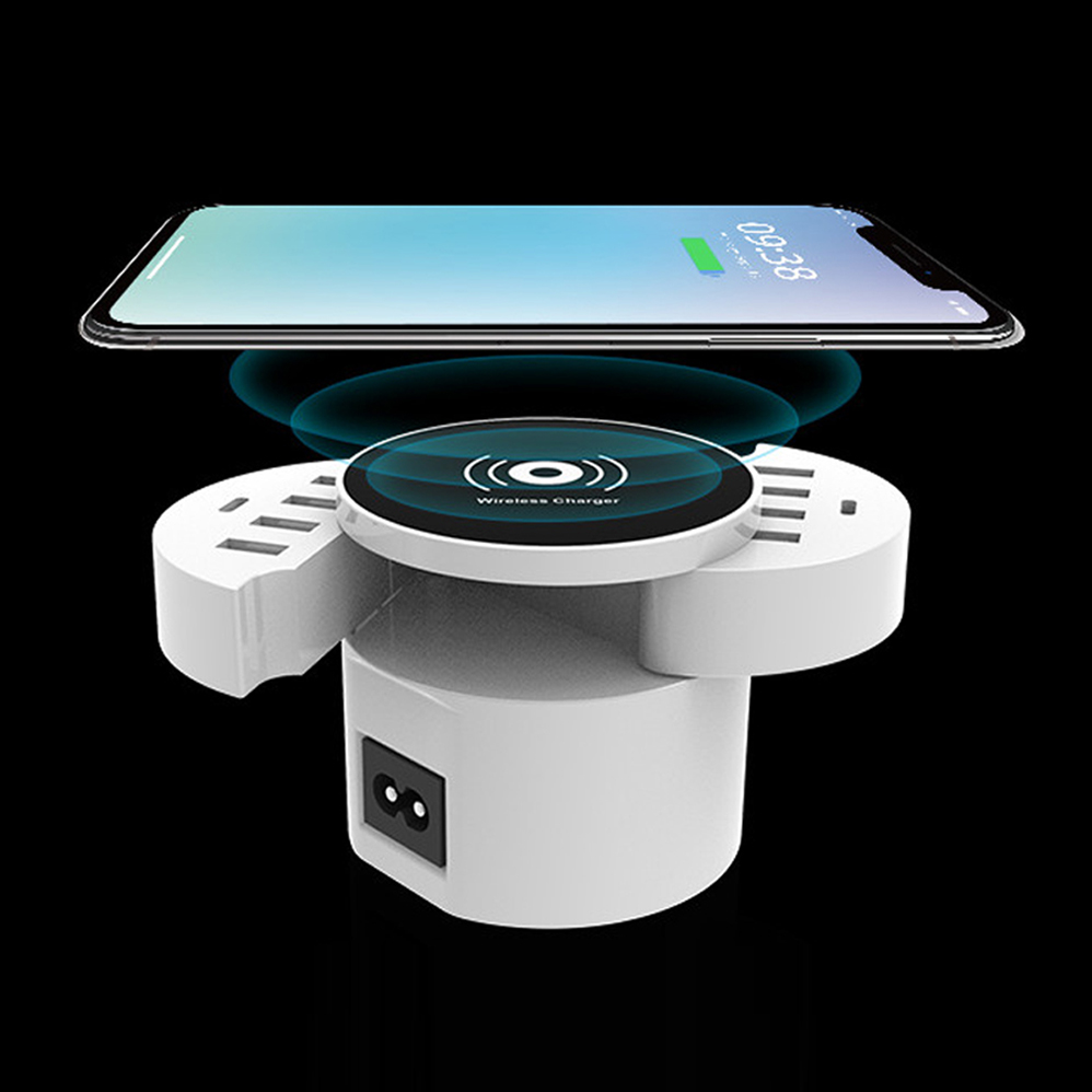 QI Wireless Charger For IPhone Samsung Huawei OPPO Xiaomi