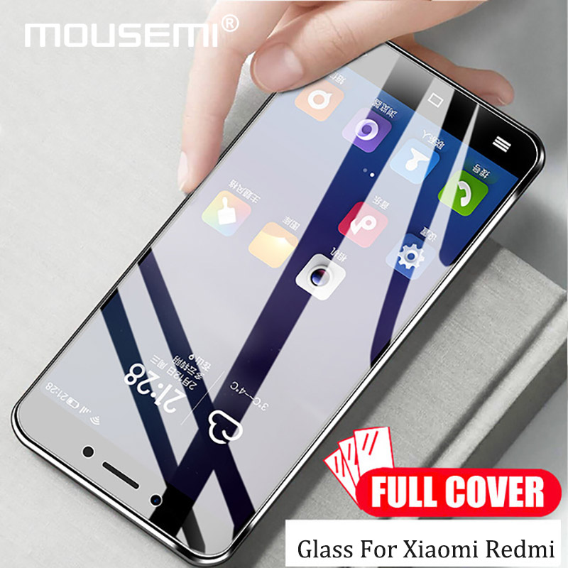 MOUSEMI Glass 4x For Xiaomi Redmi Note 4 Global Glass Tempered Full Cover Film Screen Protectors, For Xiaomi Redmi Note 4x Glass