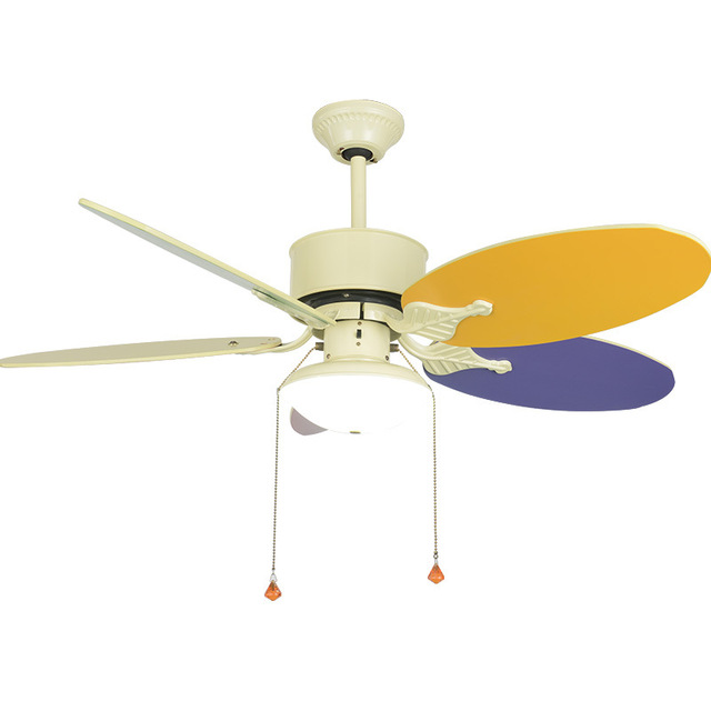 Cute Child Ceiling Fan Lamp Modern Kids Ceiling Fans With Lights for Kid Bedroom Living Room Ceiling Light