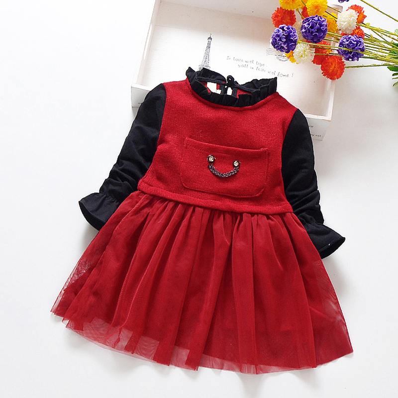 Fashion Baby Girls Clothing Infant Baby Girl Dress Princess Dresses for Girls Cotton