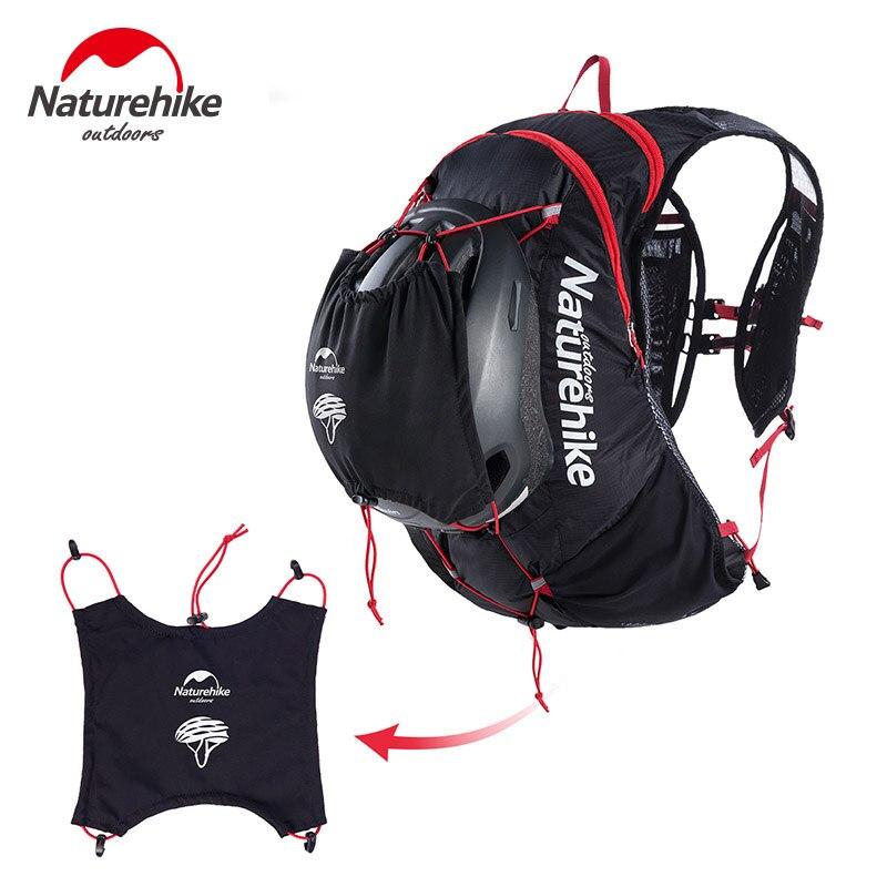 Naturetrekking 15L sacs à dos réfléchissants sac de course randonnée vélo sac de sport ultraléger extérieur étanche course à pied 4 couleurs