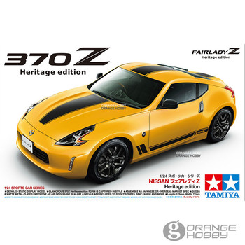 OHS Tamiya 24348 1/24 370Z Heritage Edition Assembly Scale Car Model Building Kits