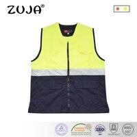 High Quality Workwear Men's Work Reflective Work Vest Safety Jacket