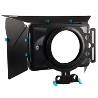 FOTGA DP3000 Pro DSLR Matte Box Sunshade W Donuts F 15mm Rod Rail Rig 5D II