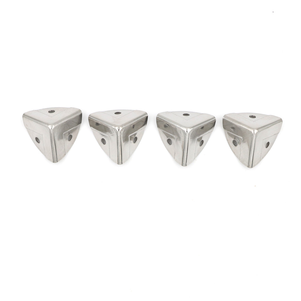 4pcs 26mm Antique Silver Style Metal Box Corner Protection Jewelry Wine Gift Box Wooden Case Corner Protector