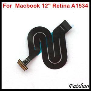 """Image 1 - Faishao Nuovo Touchpad Trackpad Cavo Della Flessione Del Nastro 821 1935 A 821 00507 A Per Apple Macbook 12 """"Retina A1534 2015 2016 2017 Anno"""