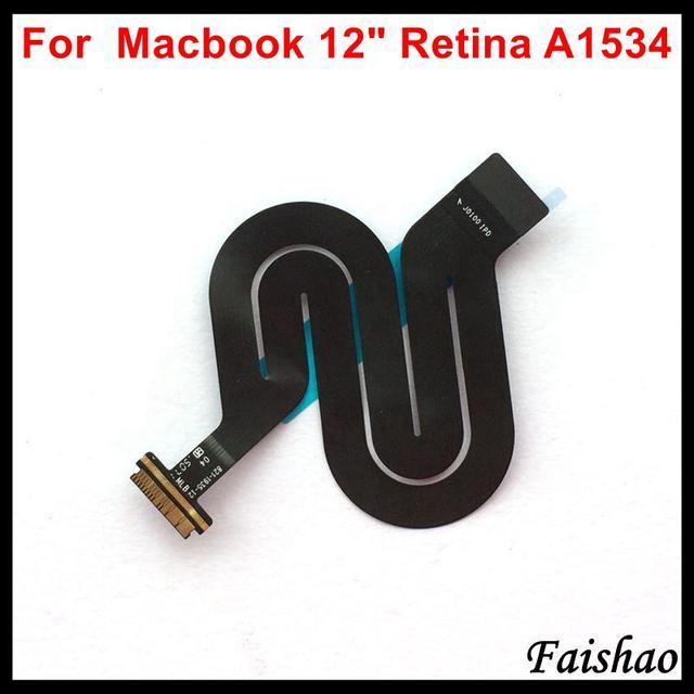 """Faishao Nuovo Touchpad Trackpad Cavo Della Flessione Del Nastro 821 1935 A 821 00507 A Per Apple Macbook 12 """"Retina A1534 2015 2016 2017 Anno"""