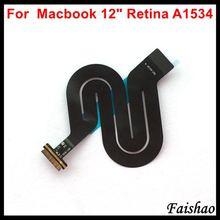 """Faishao panel táctil con Cable flexible para Apple Macbook, Cable flexible 821 1935 A 821 00507 A para Apple Macbook de 12 """"Retina A1534 2015 2016 2017"""