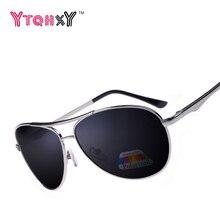 Brand Men Polarized Alloy Frame Sunglasses Fashion HD Men's Driving Sunglasses Y186