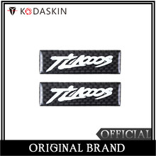 KODASKIN Motorcycle 3D Carbon Timing Belt Cover Front and Rear Round Decal for S Tl1000s