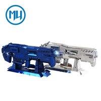 MU 3D Metal Puzzle Star Craft Terran Gauss Rifle Gun DIY Laser Cut Assemble Jigsaw Toys