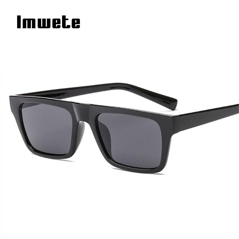 Imwete Rectangle Sunglasses For Men Women Luxury Brand Designer Sun Glasses Retro Colorful Eyeglasses Ladies UV400 Eyewear
