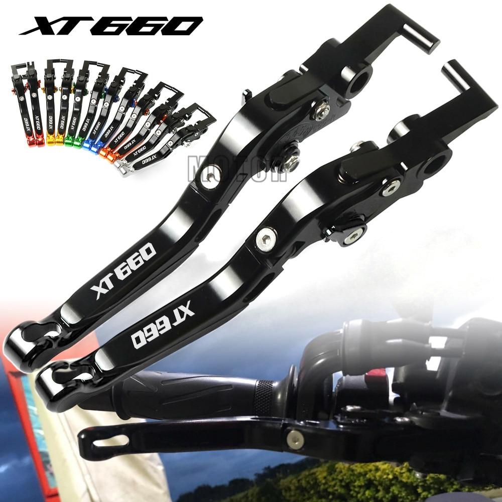For Yamaha XT600 XT600E XT600Z XT600ZE TENERE CNC Motorcycle Adjustable Folding Extendable Brake Clutch Levers XT