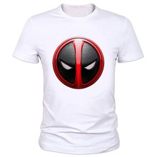 Fashion T shirt For Men Women Tops Brand Clothing Deadpool T shirt Creative Design 3D T-shirt Funny Anime Tee Pattern W-159#(China)
