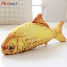 1 pc 60 90 cm Simulação Bonito Peixinho Toy Plush Stuffed Animal Dos  Desenhos Animados Travesseiro Peixe Peixe Bonecas Da Vida R.. d6e883c1b68
