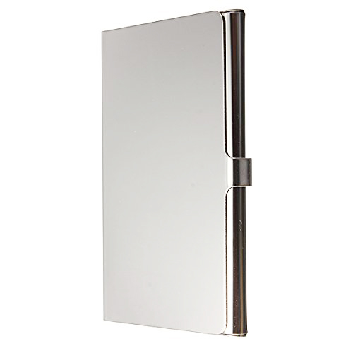 SOSW-Stainless Steel Aluminum Case Transmission Case Commercial Business Card Credit Card holder smooth