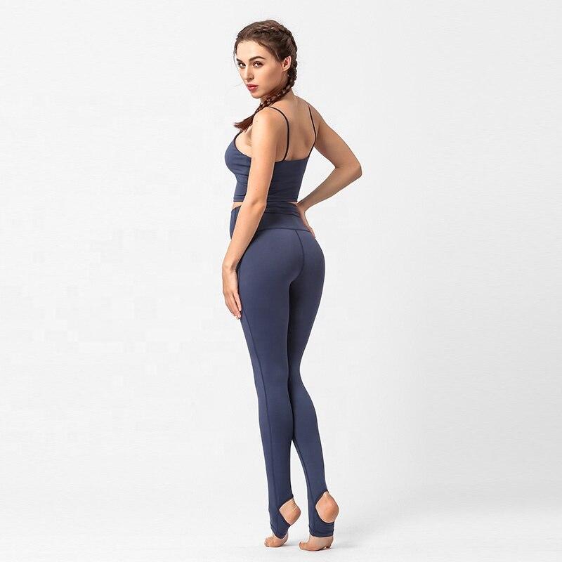 Compression Elastic Gym Wear Custom Tight Women Slimming Running Yoga Sets