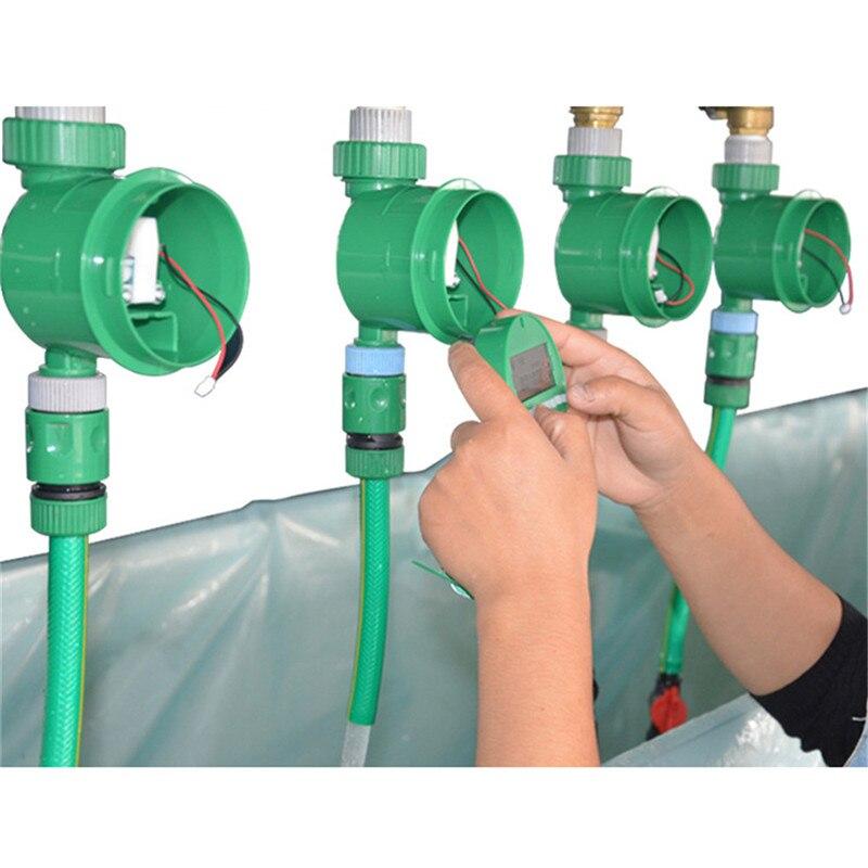 2019 automatische Elektronische LCD Display Intelligente Wasser Timer Garten Bewässerung Timer Bewässerung Controller System