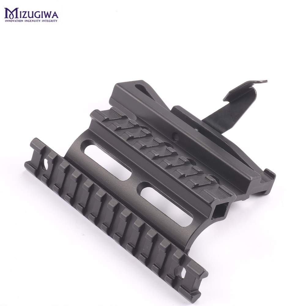 Tactical AK Rail Side Scope Mount Quick Detachable AK Double-rail Side Mount 20mm Detach rail AK Scope Sight Mount Rifle HuntingTactical AK Rail Side Scope Mount Quick Detachable AK Double-rail Side Mount 20mm Detach rail AK Scope Sight Mount Rifle Hunting