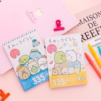New 335 pcs/pack Kawaii Sumikko Gurashi Book  Decorative Stickers Scrapbooking Stick Label Diary Stationery Album - discount item  18% OFF Stationery Sticker