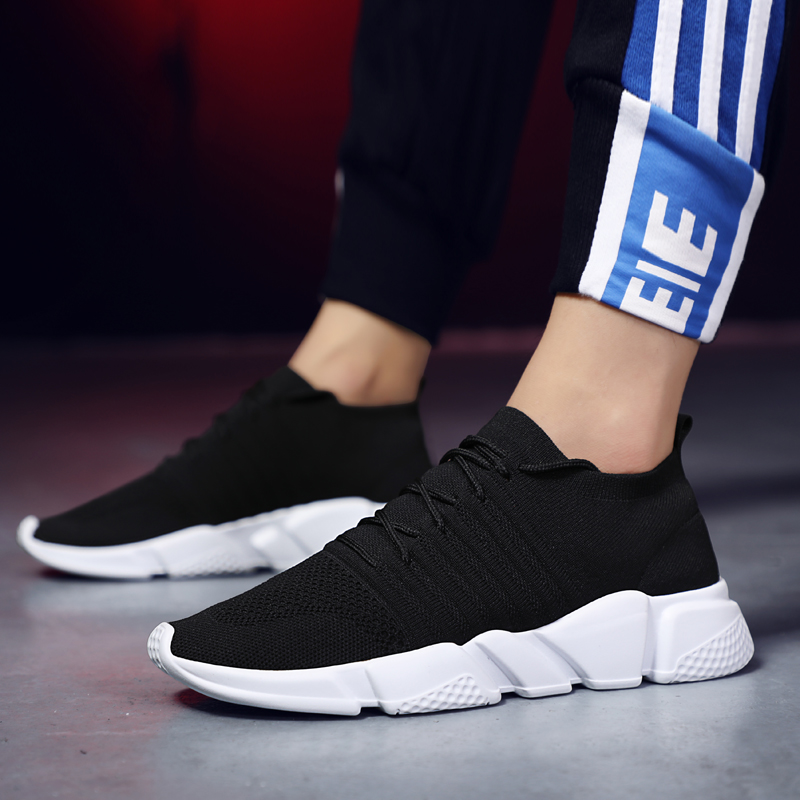 e7f4dd270065cd 2018 Hot Sale Four Seasons Running Shoes Men Lace up Athletic Trainers  Zapatillas Sports Male Shoes Outdoor Walking Sneakers New-in Running Shoes  from ...