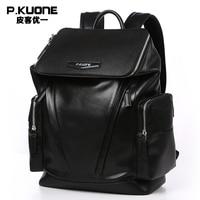 Fashion Designer Genuine Leather Backpacks For Men School Bags Famous Brand Shoulder Bag Men Travel Bag Natural Cowhide Backpack