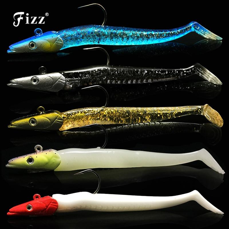 11cm 22g Lead Head Minnow Soft Lure Artificial Fishing Bait Sinking Accessories