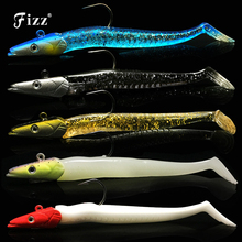11cm 22g Lead Head Minnow Soft Lure Artificial Fishing Bait Sinking Accessories