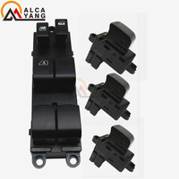 1 Set of 4 Window Lifter switch driver's side For Nissan TIIDA C11 SC11 C11Z VERSA S SL 2007 2008 2009 2010