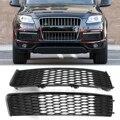 Автомобильная Передняя боковая фара-бампер  решетка-гриль  Вентиляционная решетка  гриль  гоночная сетка для гриля  Накладка для Audi Q7 S-Line 2009 ...