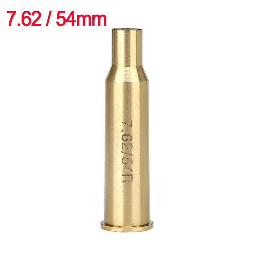 Spike Hunting Tactical Bullet Russian 7.62 x 54mm High Quality Brass Cartridge Red Laser Bore Sighter