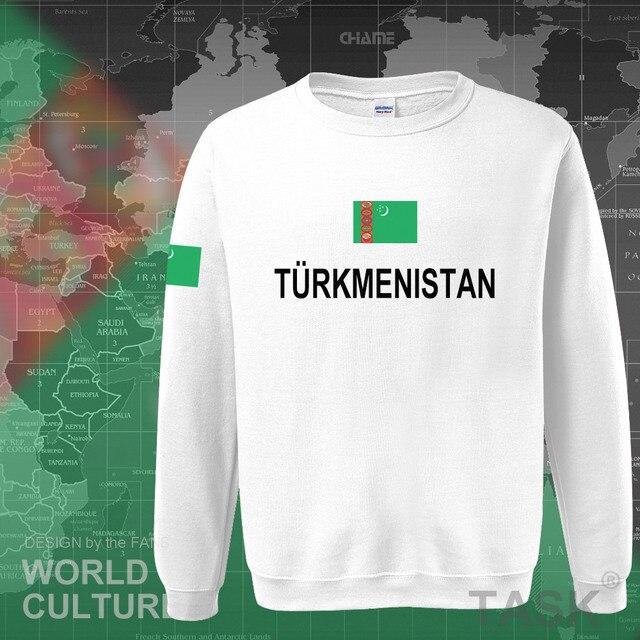 Turkmenistan Turkmen hoodies men sweatshirt sweat new hip hop streetwear clothing top sporting tracksuit nation 2017 TKM casual 5
