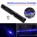 Starry Sky Laser Pointer Laser Light 500mW 450nm High Powered Wicked Military Portable Focusable Beam Carving Pet Toy Burning|  -