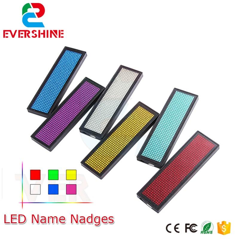 ⑧Huidu 11*44 puntos de color rojo LED insignias, etiqueta conocida ...