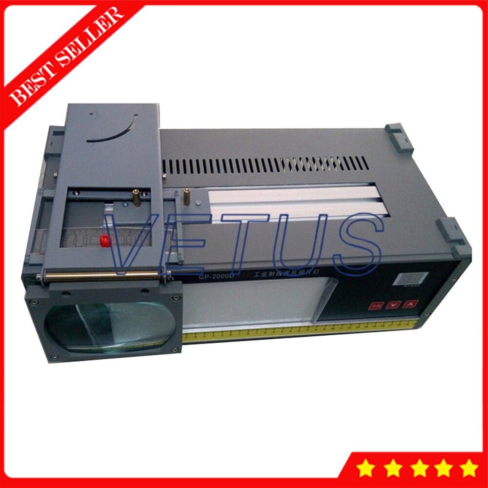 LED lampe de visualisation de film radiographique industriel GP-2000D LED lampe de vue LED visionneuse de Film