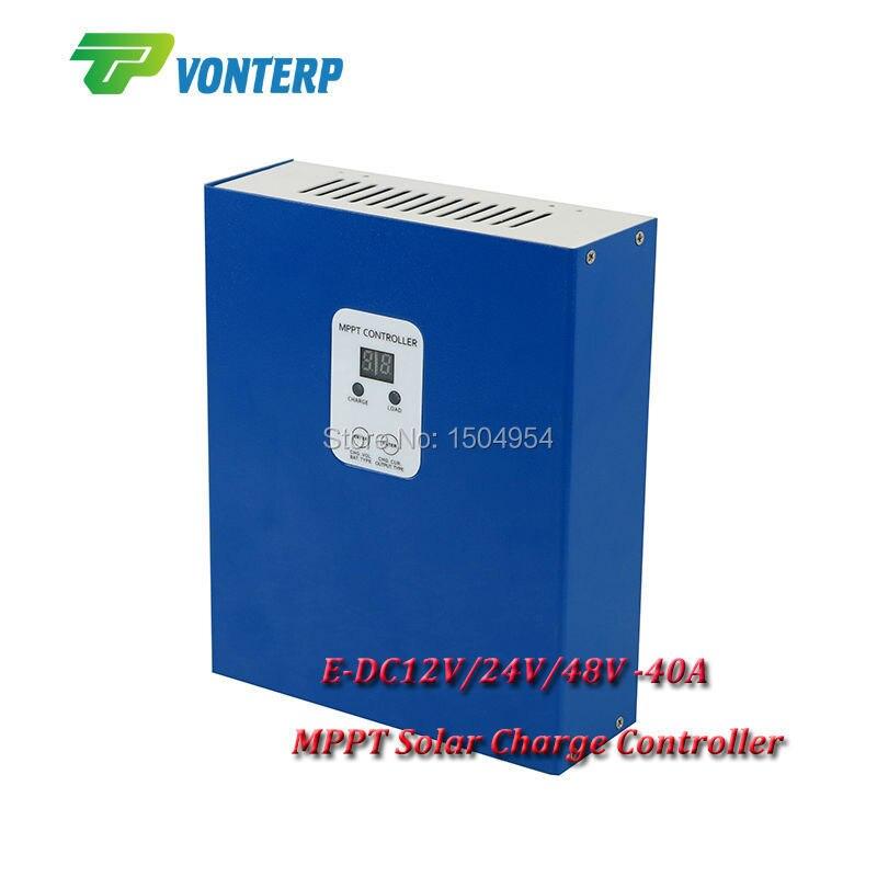 12v 24v 48v 40amp MPPT 40A 48V solar panel controller, MPPT 40A solar charger controller for solar system