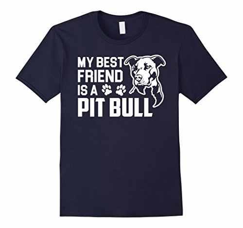 私の親友はピットブル面白いギフト犬tシャツ夏ショートスリーブコットンfashiont tシャツブラックスタイルトップtシャツプラスサイズ