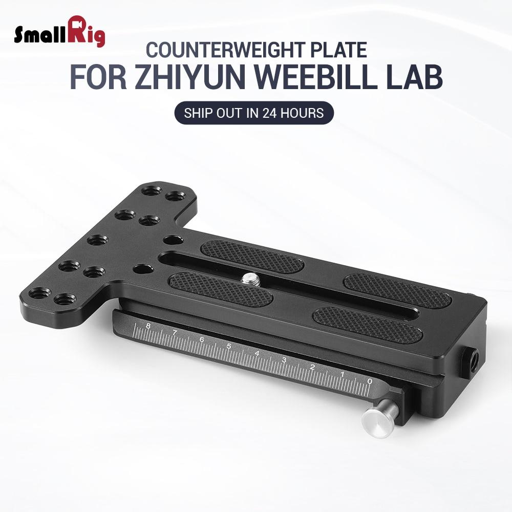 SmallRig DSLR Camera Counterweight Mounting Plate (Arca type) for Zhiyun Weebill Lab Gimbal 2283SmallRig DSLR Camera Counterweight Mounting Plate (Arca type) for Zhiyun Weebill Lab Gimbal 2283